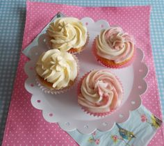 Vanilla Raspberry Jam Cupcakes | Blueberry Kitchen