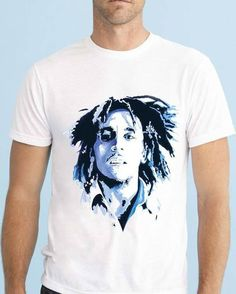 Bob Marley, Celebrities, Music, Instagram Posts, Clothing, Mens Tops, T Shirt, Products, Fashion