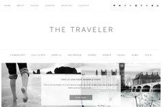 Retreat - Wordpress Theme. WordPress Blog Themes. $35.00