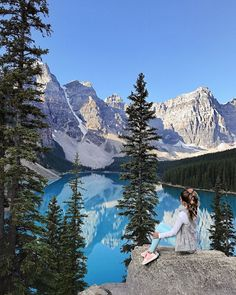 Good morning, everyone! I had a bunch of requests for this travel guide to Banff so that's what I'm sharing today. It was easily one of the top two prettiest places I've ever been (the first being the Beach Trip, Vacation Trips, Fairmont Chateau Lake Louise, Fairmont Banff Springs, Southern Curls And Pearls, Seen, Adventure Is Out There, The Great Outdoors, Places To See