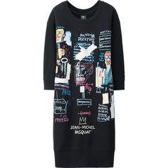 WOMEN SPRZ NY SWEAT DRESS (JEAN-MICHEL BASQUIAT)