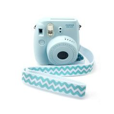 Polaroid Camera Strap Fujifilm Instax Mini Camera Blue Wave Adjustable Length
