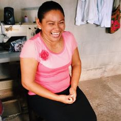 Mirna hopes that with the extra income from her embroidery work she can help her husband a carpenter build a better workshop. We are both working hard she said smiling. I think we are doing well. Read more on our blog! #linkinbio #fashrev #fairtrade #slowfashion #fashionrevolution #sustainable #oneofakind #resortwear