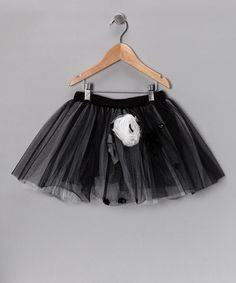 Take a look at this Black & Gray London Tutu - Toddler & Girls by Little Mass on #zulily ! #Fall Kids' Essentials!