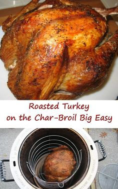 I love my Char-Broil The Big Easy TRU-Infrared Oil-less Turkey Fryer. I originally bought it just for turkey, but now use it for whole chickens and wings… regularly. It cooks all things great, like this roasted turkey. To make a turkey I inject it with a simple injection sauce (see below). Then I mix a … … Continue reading →
