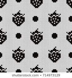 Portfólio de Gala titmouse no Shutterstock Knitting Charts, Knitting Socks, Knitting Patterns, Beaded Cross Stitch, Cross Stitch Patterns, Punto Fair Isle, Fair Isle Pattern, Fair Isle Knitting, Pattern Art