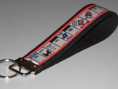 Monopoly Key Fob Wristlet by OnceDesignedbyDianne on Etsy
