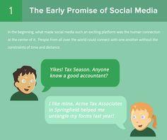 Entwicklung soziale Netzwerke - Beziehung Nutzer und Unternehmen