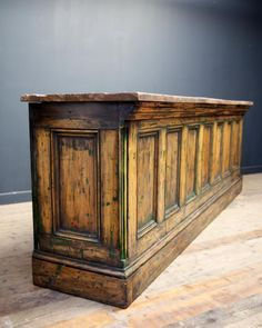 New Architectural Antiques Stock Drew Pritchard. Retail Counter, Store Counter, Furniture Projects, Furniture Styles, Cash Wrap Counter, Pub Interior, Architectural Antiques, Antique Stores, Rustic Design