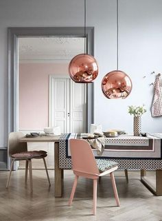 copper room colors for modern interior design and decorating