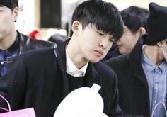 141225 - Hanbin @Incheon Airport heading to JP. Tokyo  #iKON #Hanbin #B.I…