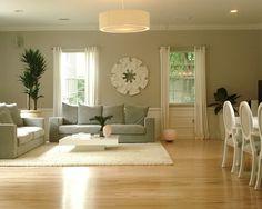 Maple wood floors. Great room!
