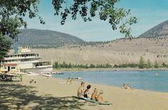 Postcard: Penticton, B. Canadian Pacific Railway, Lake Beach, British Columbia, Vancouver, Grand Canyon, Dolores Park, Nostalgia, Canada, Family History