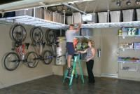 This site has lots of ideas for garage storage and de-cluttering