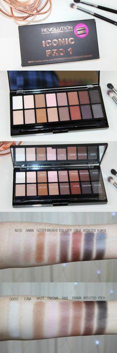 Revolution Iconic Pro 1 Palette - Lorac Pro Palette Dupe