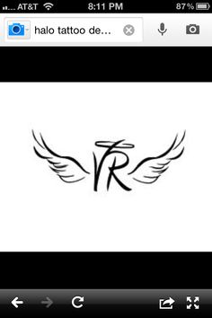 "This is what I have been looking for!!!! ""VP"" Tattoo in memory of my daddy!"