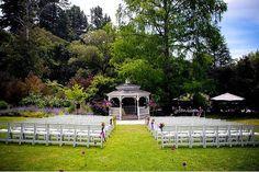 Marin Art & Garden Center, Marin county wedding venue