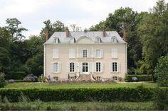 Château an der Mayenne im Pays de la Loire in Frankreich