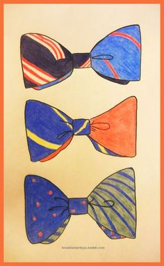 Reversible neckwear.  Go big (bow tie) or go home