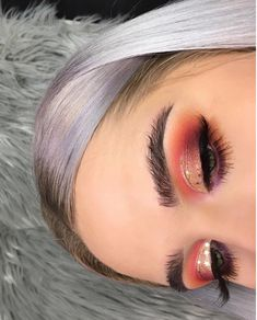 Glam Makeup, Love Makeup, Makeup Inspo, Makeup Art, Makeup Inspiration, Beauty Makeup, Hair Makeup, Makeup Ideas, Sexy Makeup
