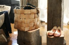 The first Samuji Shop in Kiseleff House, Helsinki Helsinki, Wicker Baskets, Spaces, House, Inspiration, Accessories, Shopping, Home Decor, Biblical Inspiration
