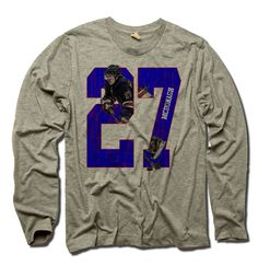 Ryan McDonagh NHLPA Officially Licensed New York Long Sleeve Shirt S-3XL Ryan McDonagh Break B