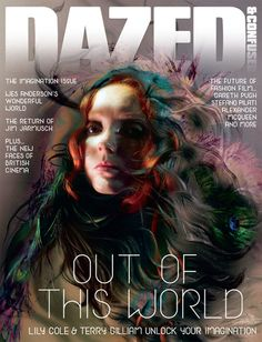 Lily Cole Dazed and Confused November 2009 cover