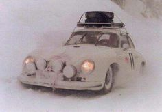 Porscche 356 Rally Monte Carlo