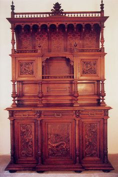 Victorian Renaissance Revival Dining Suite by OldeTymeTreasures, $12997.00
