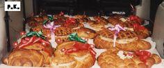 Keiner zu klein,köstlich zu sein !: Apéro - Brote Für einen Spezialen Anlass . Dekor ... Muffin, Breakfast, Food, Breads, Sugar, Recipies, Morning Coffee, Essen, Muffins