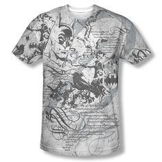 Batman Tale The Dark Knight Official DC Sublimation ALL OVER Vintage T-shirt top  Available In Sizes:Small, Medium, Large, XL, 2XL #Batman #BruceWayne #TheDarkKnight #DCComics #JLA  #Vintage #TheCapedCrusader #BatLogo #BatSymbol #BatSignal #JusticeLeague #BatmanTshirt