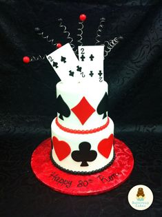 Image result for poker party cake ideas