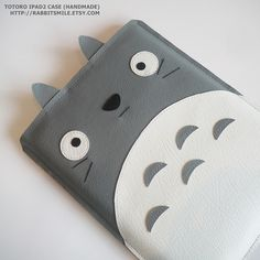 handmade totoro ipad case