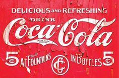 Drink Coca-Cola 5¢