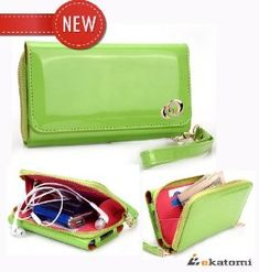 "On-the-go Travel Wristlet Wallet Clutch Lady Bag for At&t Samsung Galaxy S2 S II Skyrocket - Lime Green. Bonus Ekatomi screen cleaner. (Ships from U.S.) by Kroo. Save 30 Off!. $29.99. Features dual handy pockets for one mobile phone storage and a section for wallet assets. Designed to wear on the wrist, removable strap for your convenience. Full compartment approximate dimensions: 5.5"" x 3"" x .3"" WHD. The zip-around compartment fits the essentials for a night out, including cre..."