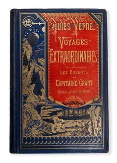 Voyages Extraoridnaires Antique Victorian Book.