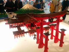レゴで厳島神社