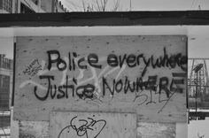 this vandalism is what it takes a whole book to say.. this world is not at all what it used to be..