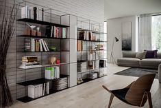 Design made in Italy e artigianato Italiano: Pipedesign Shelving, Bookcase, Carrara, Interior Design, Italy, Blog, Home Decor, Life, Iron
