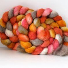 BFL+Roving+for+Spinning+or+Felting++Wool+Fiber++by+SpunRightRound,+$16.00