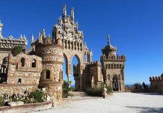 Castelo Colomares - Benalmadena - Espanha.
