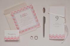 pink and grey chevron wedding invitation collection Grey Chevron, Pink Grey, Wedding Invitations, Bullet Journal, Collection, Gray Chevron, Wedding Invitation Cards, Wedding Invitation, Wedding Announcements