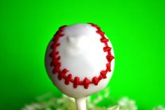 baseball cake pop!