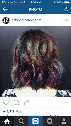 Oil spill hair