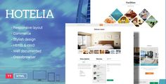 Hotelia - Responsive Hotel Template . Thank you for your interest shown to TeslaThemes and your purchase of Hotelia Theme. We highly appreciate