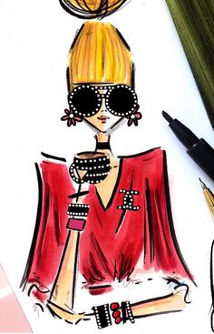 #GirlBoss #Momtrepreneur #Sassy @diarysketcheslk #FashionIllustrations| Be Inspirational ❥|Mz. Manerz: Being well dressed is a beautiful form of confidence, happiness & politeness