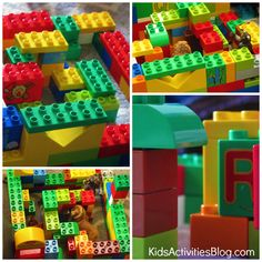 The Greek Labyrinth: How to Make a Labyrinth {LEGO Activities} - Minotaur (Chapter 18)
