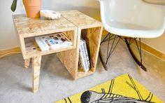 | Cómo decorar con tableros OSB