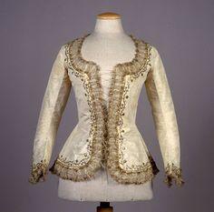 Caraco ca. 1780 From the Galleria del Costume di Palazzo Pitti via Europeana Fashion