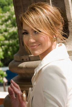 Outstanding Jennifer Lopez Casual And Hairstyles On Pinterest Short Hairstyles Gunalazisus